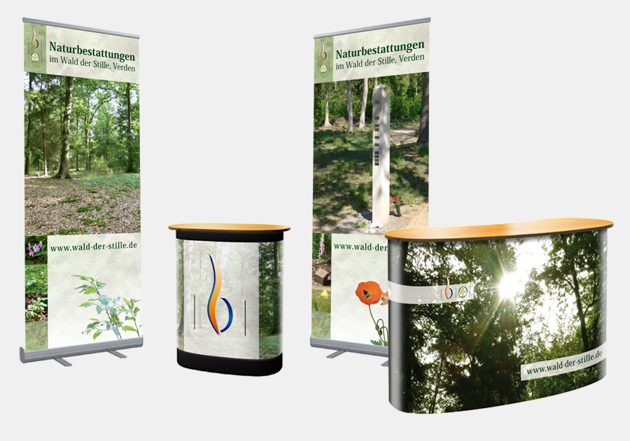 Messestand wald der stille